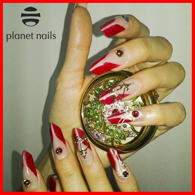 фото работы выполненной с помощью гель-краски Planet Nails