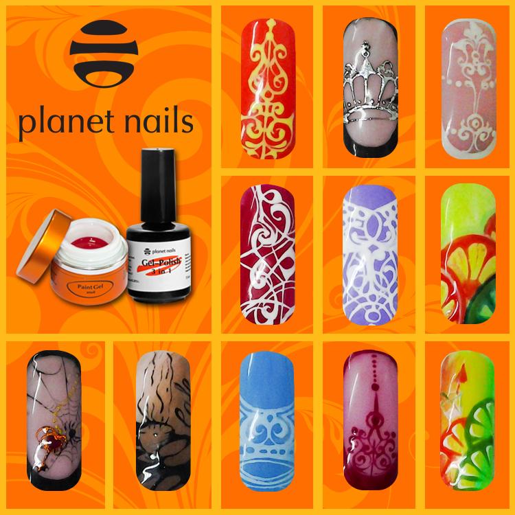 фото градиент гель-лаком Planet Nails