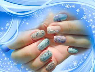фото мастер-класса Морозко Planet Nails