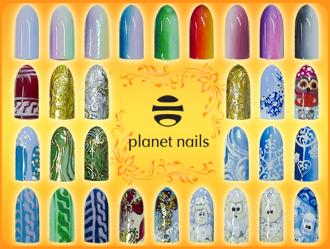 фото мастер-класса Зимняя сказка Planet Nails