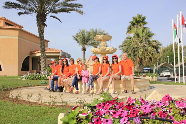 ПЛАНЕТ НЭЙЛЗ на отдыхе в Арабских Эмиратах