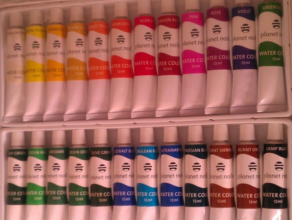 Хорошие краски + видео-уроки