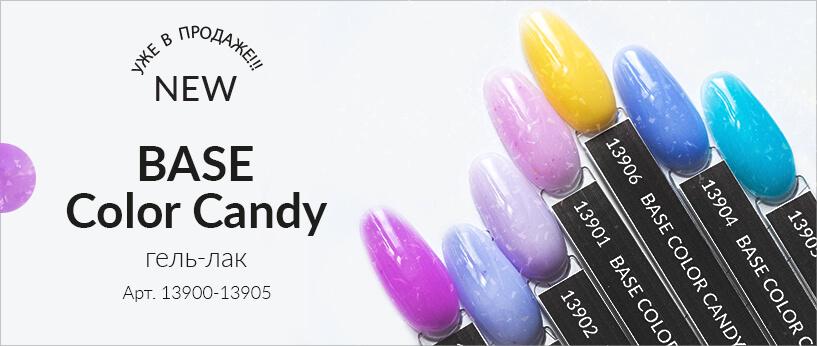 Гель-лак BASE Color Candy от Planet Nails