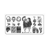 Пластина для Stamping Nail Art №17