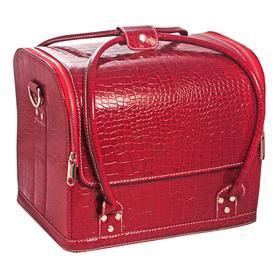 "Сумка-чемодан красная ""Crocodile"""