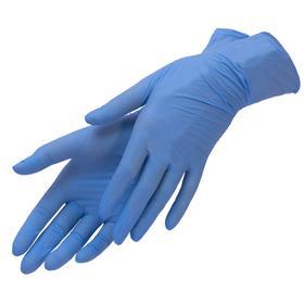 Перчатки нитриловые, S, 100шт/уп