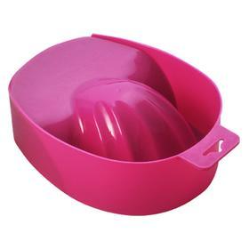 Ванночка маникюрная с углублением цветная