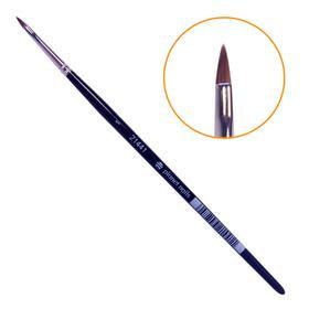 Кисть Planet Nails для дизайна острая № 1 (31698.1)