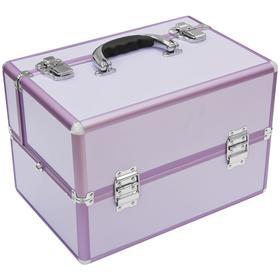 """Чемодан """"Альфа"""" пурпурный WT-405K-Pink"""