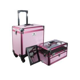 "Чемодан-трансформер ""Glam Star"", розовый"