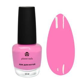 Лак для ногтей с эффектом гелевого покрытия Planet Nails (871) 12мл