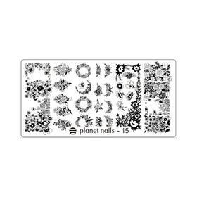 Пластина для Stamping Nail Art №15